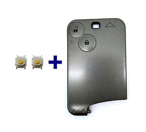 2t schl sselkarte schl ssel geh use f r renault megane. Black Bedroom Furniture Sets. Home Design Ideas