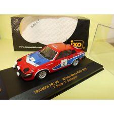 TRIUMPH TR7 N°5 MANX RALLYE 1978 T. POND IXO RAC057 1:43 Arrivée 1er