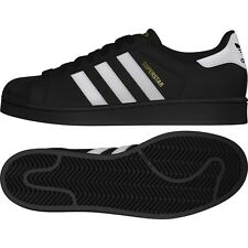 item 5 new mens 8.5/9.5/10 adidas originals superstar black/white-gold  b27140 run dmc -new mens 8.5/9.5/10 adidas originals superstar  black/white-gold ...