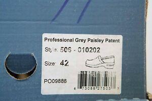Dansko Professional Clog Grey Paisley Patent Women/'s sizes 35-42//5-12 NEW!!!