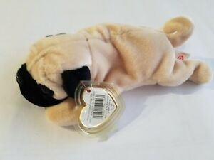 417ace93f55 Image is loading Ty-Beanie-Babies-Sports-Commemoratives-034-Pugsly-the-