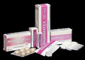 Image Is Loading Pharmatex 18 9mg Benzalkonium Chloride 6 Vaginal Capsules