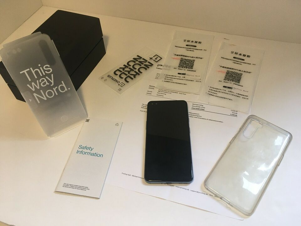 OnePlus Nord 5G (gray onyx), 128 , Perfekt