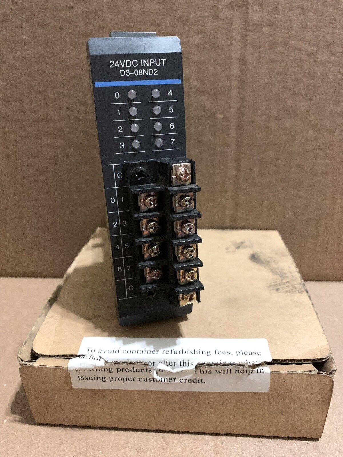 PLC DIRECT PLC 24VDC INPUT D3-08ND2 D308ND2