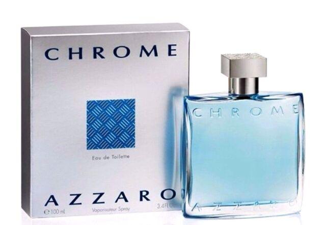 Azzaro Chrome Cologne for Men 100ml EDT Spray