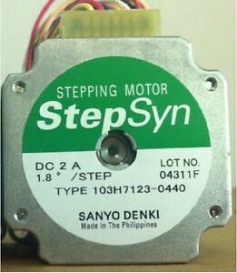 1pcs new sanyo denki stepper motor 103h7123 0440 ebay for Step syn sanyo denki stepping motor datasheet