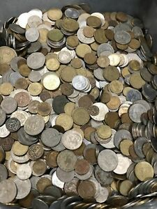 Nice-Mixed-Bulk-Lot-of-100-Assorted-Mexico-Mexican-Coins-Good-Beginner-Lot