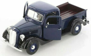 FORD-PICK-UP-1937-1-24-Scale-Diecast-Toy-Car-Model-Die-Cast-Truck-Blue