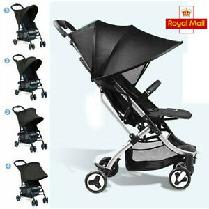 Pushchair-Sun-Shade-Canopy-Cover-Baby-Stroller-Buggy-Pram-Travel-Shield-UPF-50