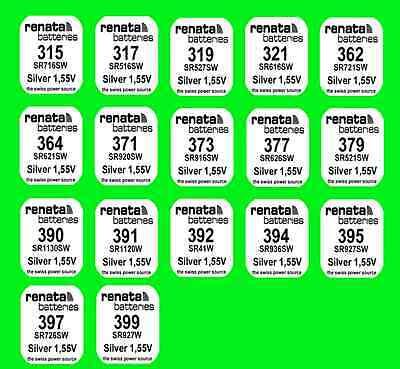 364 371 377 379 395 397 2x Energizer Uhren Batterie Knopfzelle aus 15 Typen z.B