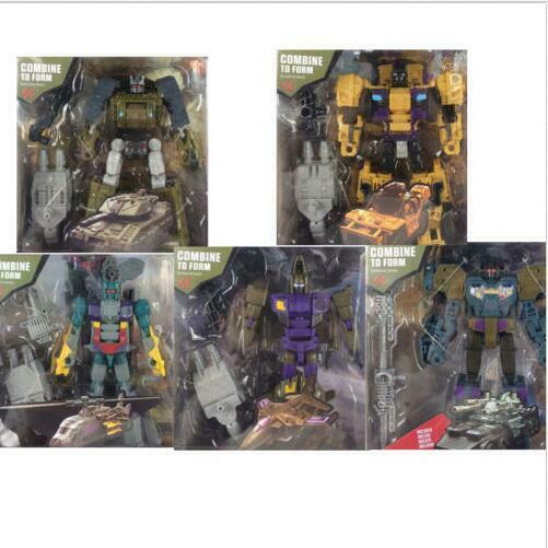New Desigh Bruticus 25cm Transformation 5 in 1 ko Action Figure Toys