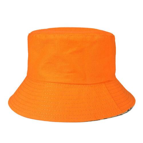 Womens Mens Bucket Caps Bush Outdoor Fishing Cargo Wide Brim Summer Boonie Hats
