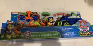 Nouveau pack Paw Patrol Jungle Explorer 2 Chase et Zuma Monkey Toys R Us Exclusive