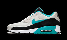 Details zu Nike Air Max 90 Essential UK 7 Light Bone Sport Turquoise Black AJ1285 001