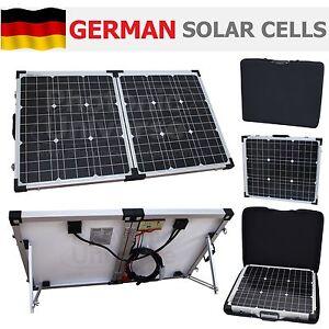 80w 12v folding solar panel charging kit for camper. Black Bedroom Furniture Sets. Home Design Ideas
