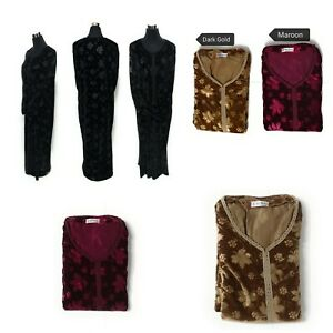 Women-winter-Velvet-Long-Maxi-Dress-Embroidered-Abaya-Robe-Luxury-Kaftan-Jilbab