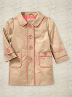 Gap Piped Trench Coat Size 3t 4t