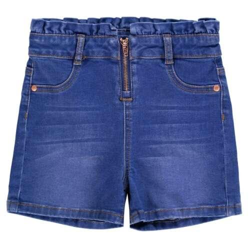 Firetrap Denim Shorts Youngster Girls Pants Trousers Bottoms Lightweight Zip