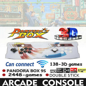 In-1-Pandora-039-s-Box-9S-Video-Games-Double-Stick-Arcade-Console-WiFi-Connection-US