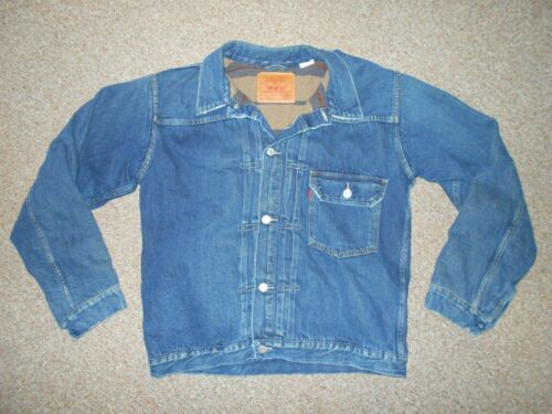 LEVIS 506XX LVC BIG E MENS USA 40 BUCKLE BACK BLAN