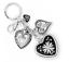 Brighton Silver Plated Key Fob  Keychains Free Shipping