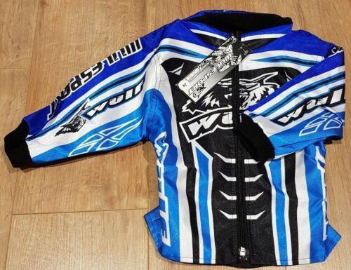 "Blue 24/"" Chest Wulfsport Kids Motocross MX ATV Quad EnduroRide Jacket"