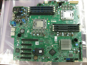 0H19HD Dell PowerEdge T410 Intel Dual LGA1366 Motherboard 2x Xeon E5620 12GB Mem