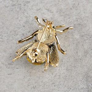 Suess-Biene-fliegendes-Insekt-Brosche-Zubehoer-der-Kleidung-Emaille-Broschen-BS