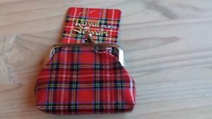 Royal Stewart Tartan Rosso Portamonete  </span>