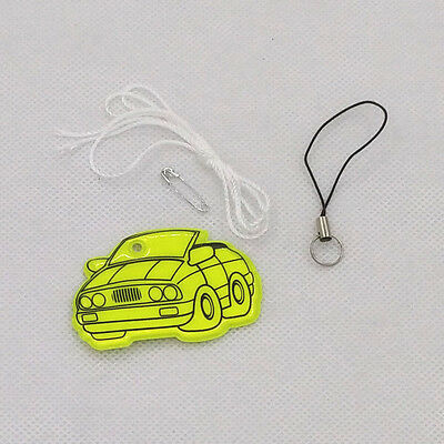 1/10/50 Reflective bag pendant accessories for road visibility safety CAR