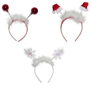 Christmas-Novelty-Motif-Deeley-Bopper-Alice-Hair-Band-Headband-Accessories