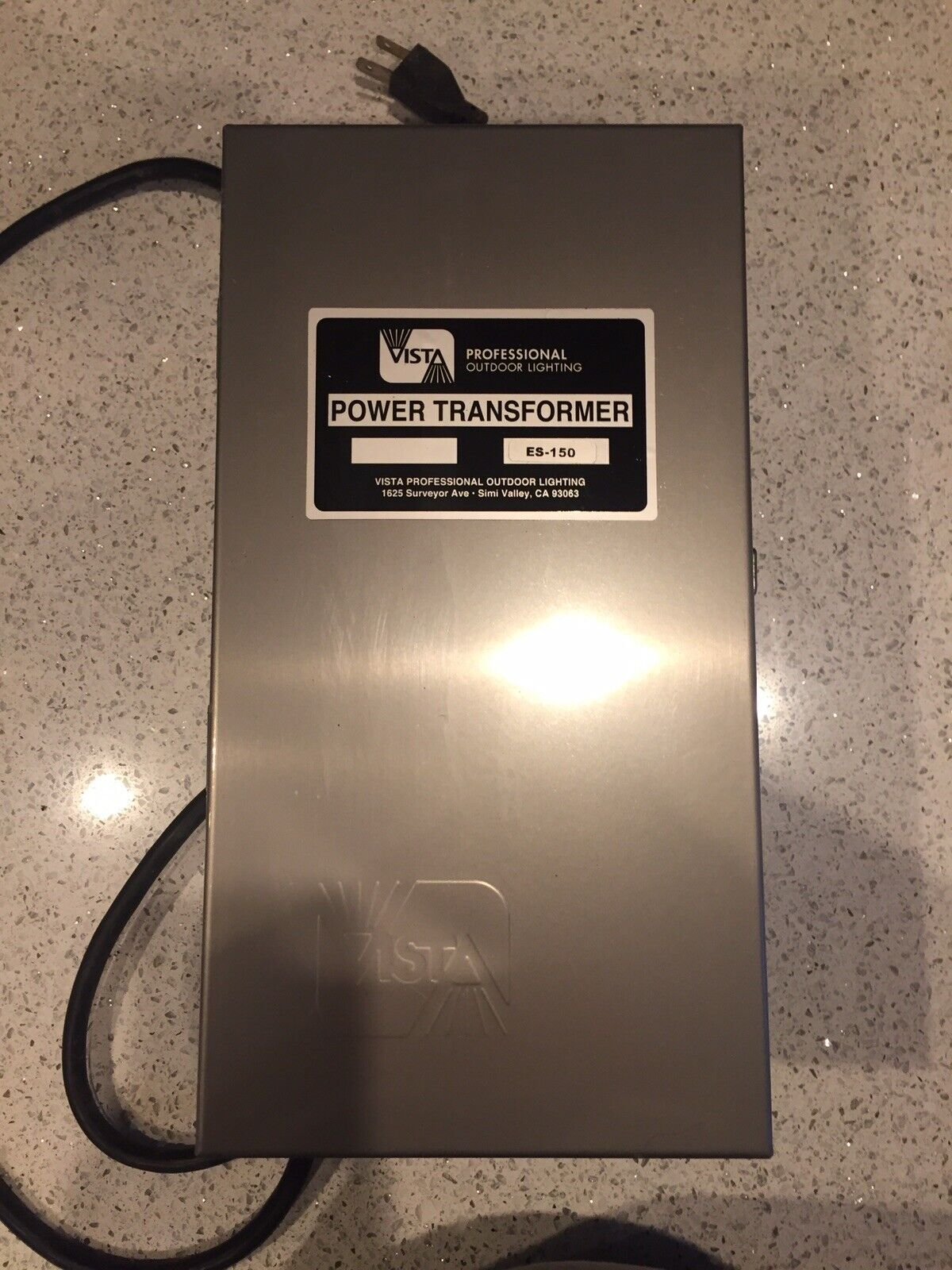 Vista Es 150 Landscape Series Transformer 150 Watts Stainless Steel New For Sale Online Ebay