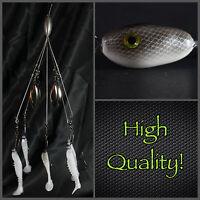 Alabama/umbrella (finesse) Rig 5 Wire 4 Blade Rig High Quality