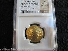 Gold Coin Ancient Byzantine CONSTANTINE X, (1059 - 1067) CHRIST HISTAMENON NOMIS