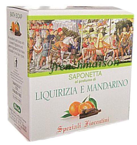 Speziali Fiorentini Sandalwood Licorice Mandarin ITALIAN TUSCAN Bath Soap Gift