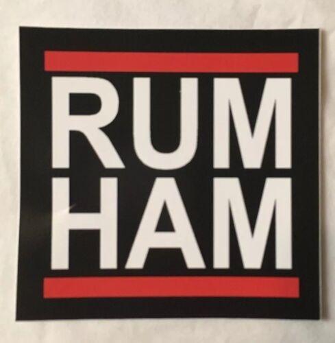 "its always sunny in philadelphia Sticker /""Rum Ham/"""