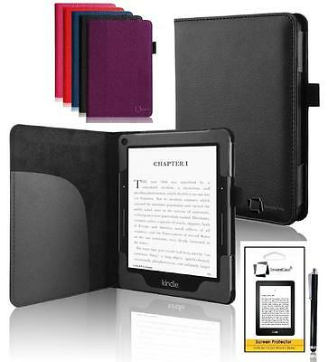GENUINE INVENTCASE® LEATHER BOOK CASE COVER KINDLE VOYAGE 2014 7TH GENERATION