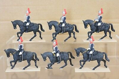 Ben Informato Britains Eyes Right Royal Household Cavallo Protezioni X 6 Nq