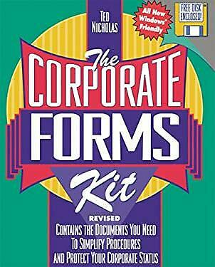 Corporate Forms by Nicholas, Ted