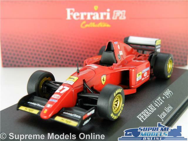 FERRARI 412T FORMULA ONE CAR MODEL 1 43 SIZE IXO ATLAS F1 ALESI 7174020 1995 T3