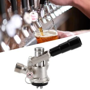 Keg-Coupler-S-Type-Draft-Wine-Beer-Dispenser-With-Safety-Valve-Home-Brewing-Set