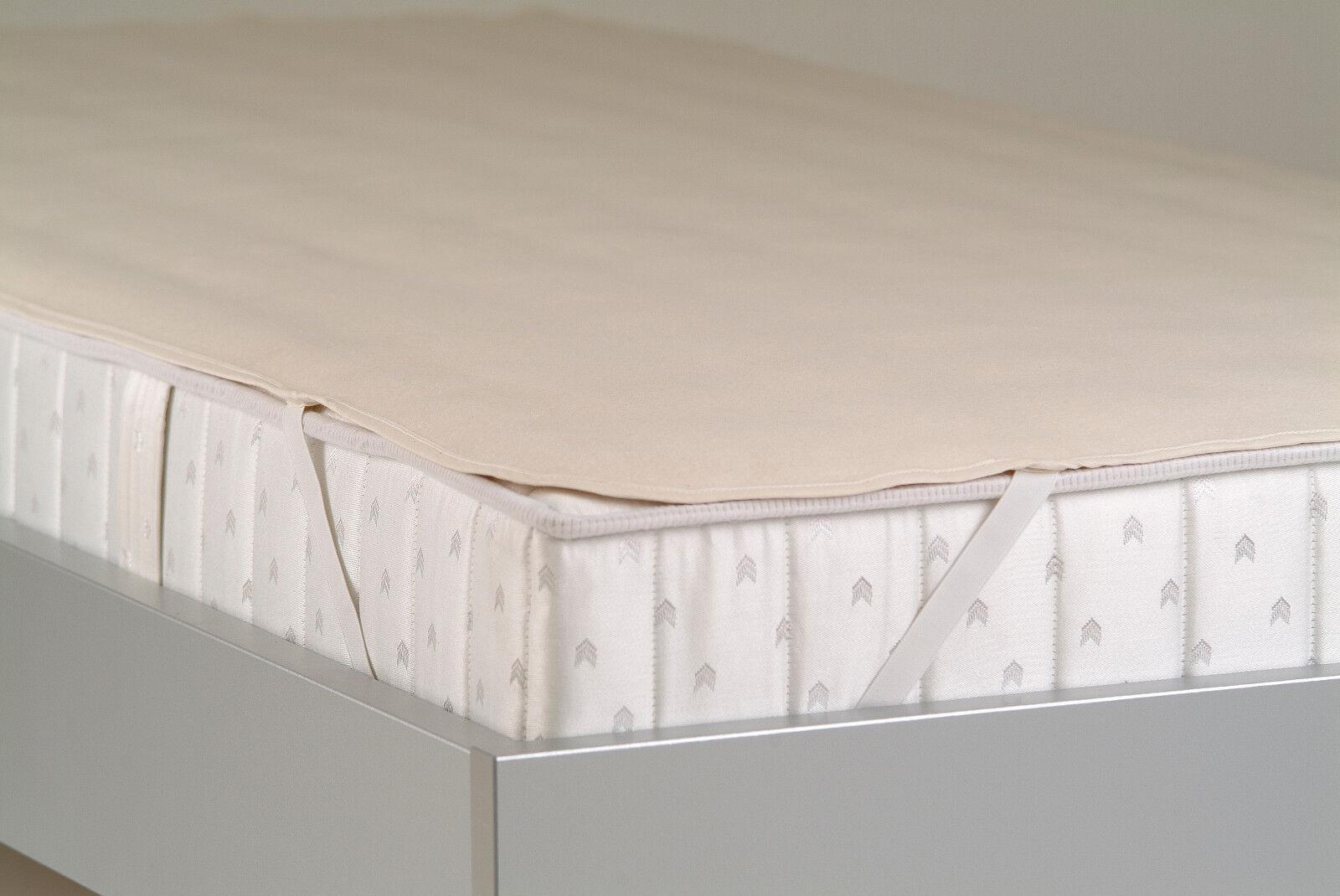 Matratzenauflage, Molton 200 x 220 cm, Matratzenschoner, deutsches Produkt