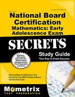 Secrets Of The National Board Certification Mathematics: Early Adolescence