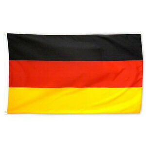 neu fahne deutschland 90x150 cm flag germany eu deutsche flagge ebay. Black Bedroom Furniture Sets. Home Design Ideas