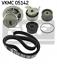 Pompe-a-eau-courroies-pour-refroidissement-SKF-VKMC-05142 miniature 1