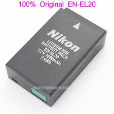 Genuine Original Nikon EN-EL20 Battery for Coolpix A J1 J2 J3 S1 AW1 camera
