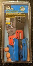 Ideal Rachet Telemaster 30 696 Modular Plug Termination Crimp Tool Ga4