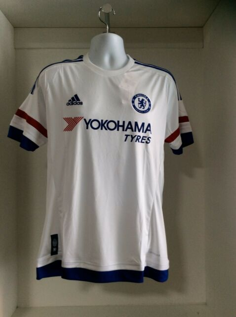 bb7a306fe Ah5108 adidas CFC Chelsea Away White Soccer Jersey Men s Size M for ...