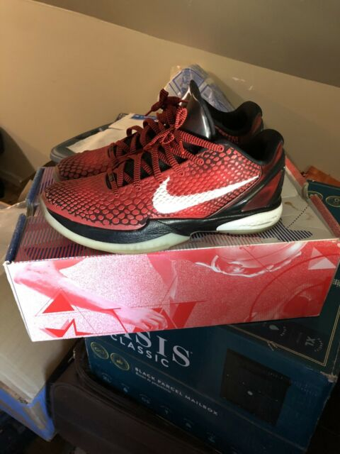 94a1aabe723 Nike Zoom Kobe VI 6 All Star Challenge Red White Black Sz. 11.5