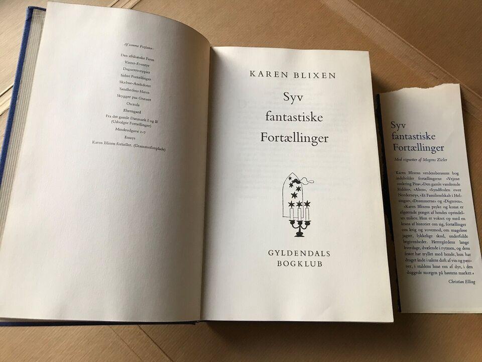 Syv fantastiske fortællinger, Karen Blixen aka Isak